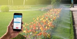 دستگاه آبیاری خودکار با موبایل ؛آبیاری با پیامک