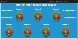 ترمومتر و کنترل دمای تونل انجماد