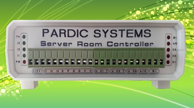 دستگاه کنترل دما و رطوبت اتاق سرور پاردیک