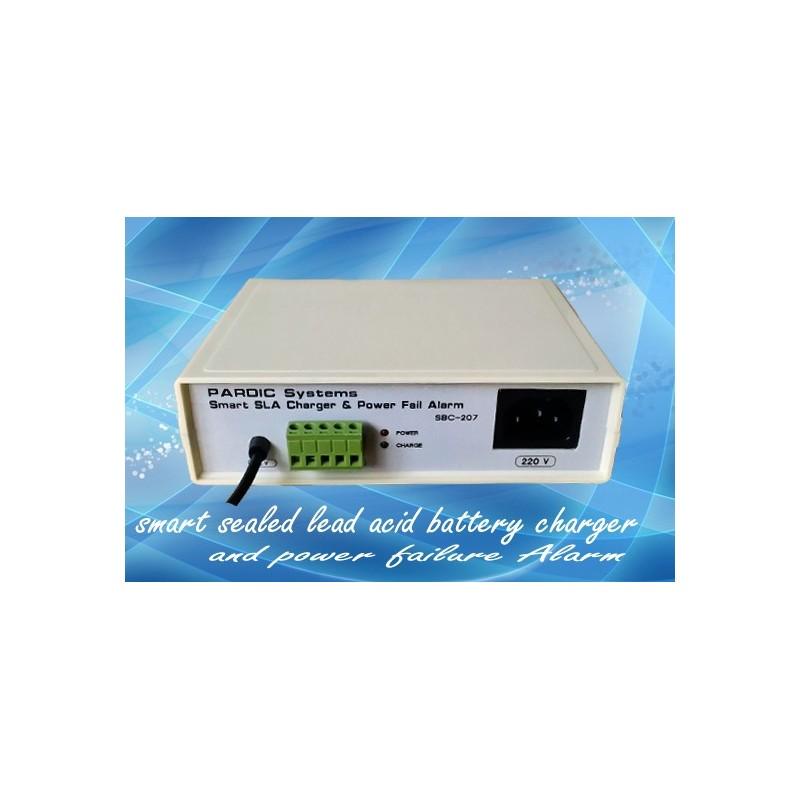 شارژر اتوماتیک باتری خشک سیلد اسید 12 ولتی